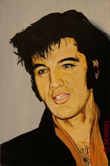 Elvis Presley by oseknazi